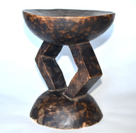 African Tribal Stool Zambia