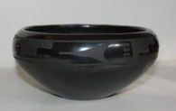 Maria Martinez Black Pottery Bowl 1920s