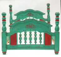 19th-C Mexican Hacienda Bed