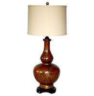 Hollywood Regency  Ceramic Lamp