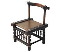 African Senufo Wood & Metal Chair SOLD