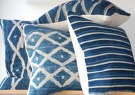 African Indigo Pillows
