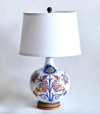 Vintage Italian Deruta Majolica Lamp SOLD