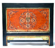 19th C Mongolian Lacquer Cabinet SOLD