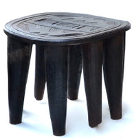 African Nupe Chief's Table Stool SOLD