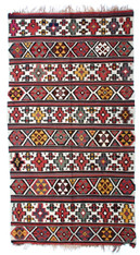 "Antique Caucasian Kilim 5' x 8'9"" SOLD"
