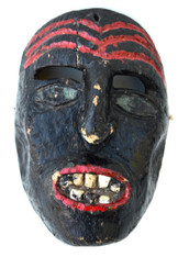 Early Mexican Demon Mask