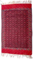 """Vintage Afghan Wool Rug 6'1"""" x 10' SOLD"""