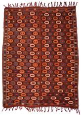 1930s Caucasian Verneh Tribal Kilim SOLD