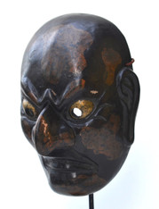 19th C Japanese Gigaku Mask