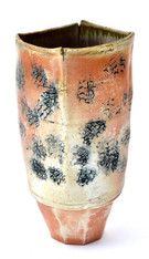 Berkeley Artist Catherine Hiersoux Pottery Vase SOLD