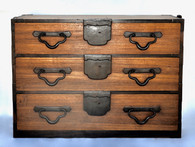 19th Century Japanese Tansu Cabinet SOLD