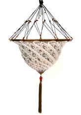 Italian Fortuny Style Murano Glass Hanging Pendant