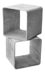 Authentic Willy Guhl Modular Square Cube Tables