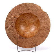 Al Stirt Ceremonial Maple Burl Bowl 1984