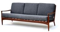 1960s Danish Mid Century Teak Sofa