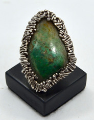 Authentic Pal Kepenyes Silver Turquoise Ring, Signed