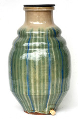 Stunning 19th-C Japanese Shigaraki Ceramic Water Storage Jar SOLD