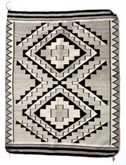 "Vintage Navajo Rug 40"" X 50"""