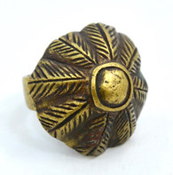 1800s African Mossi Bronze Chief's Ring