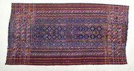 Rare Bhutanese Traditional Kira Silk Embroidery Wrap Textile