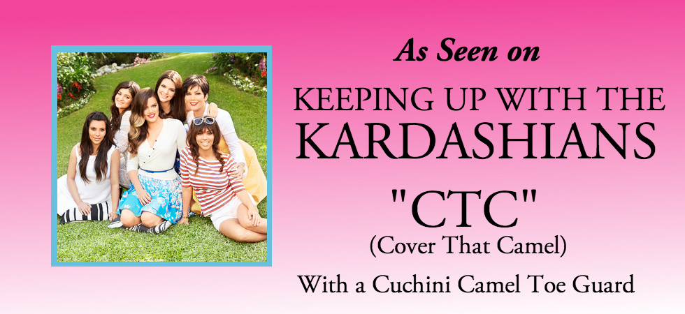 Cuchini Camel Toe Guard: As Seen on Keeping Up With the Kardashians Season 9: Cover That Camel with A Cuchini Camel Toe Guard