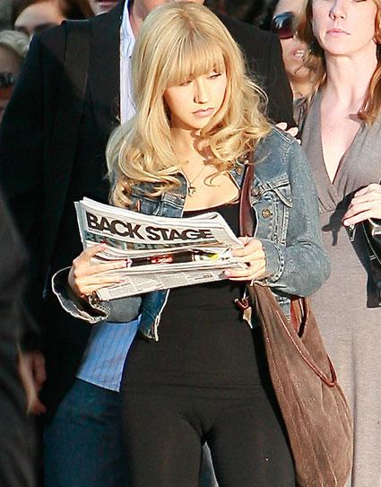 Christina Aguilera Celebrity Camel Toe