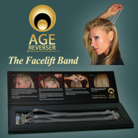 Instant Facelift Band! Look years younger in just minutes with no surgery or needles! New package design to store your Facelift Band while not in use and for easy travel.