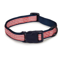 "Americana Dog Collar 14""-20"""