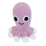 Octopus Crocheted Dog Toy