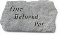 "Memorial Stone - ""Our Beloved Pet"""