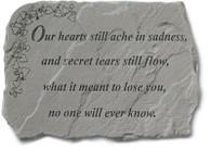 Memorial Stone - Our hearts still ache...
