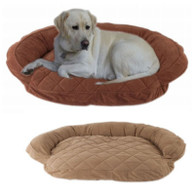 Microfiber Quilted Bolster Bed w/ Moisture Barrier Protection $89.95- $149.95