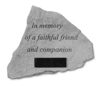 Personalized Memorial Stone - In memory...
