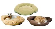 Personalized Velvet Microfiber Bolster Bed