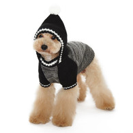 Contrast Hoodie Sweater