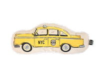 Retro Canvas Taxi Cab Toy