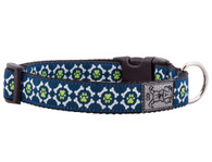 Pawprint Clip Collar / Leash