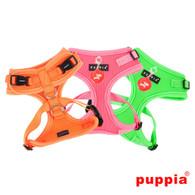 Puppia Neon Soft Harness II