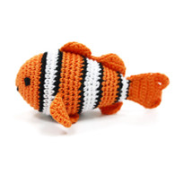 Crochet Clown Fish Toy