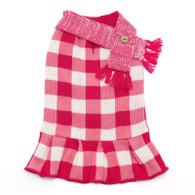 Gingham Sweater Dress