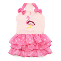 Sequin Flamingo Dress