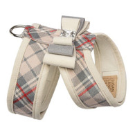 Susan Lanci Scotty Tinkie Harness Doe Plaid