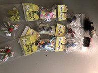 Set of Barrettes 12 pack