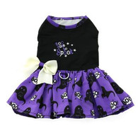 Too Cute To Spook Halloween Harness Dress