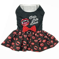 Girls Bite Back Halloween Harness Dress