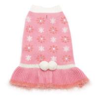 Pink Daisy Sweater Dress