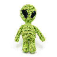 Alien Crochet Toy