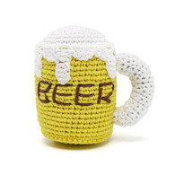 Beer Mug Crochet Toy
