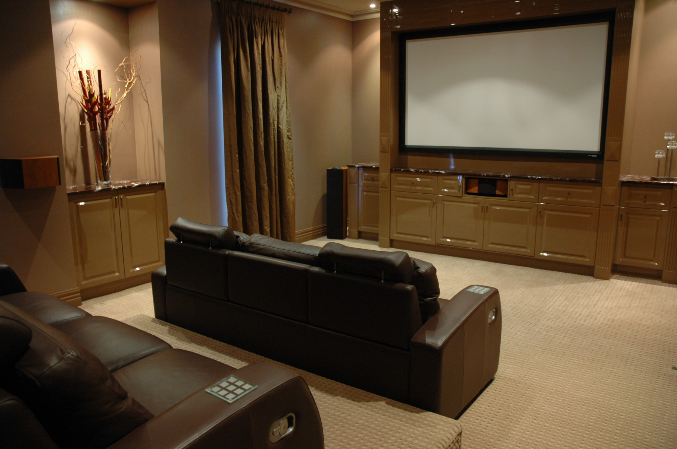 Av australia home theatre design services - Interior design for home theatre ...